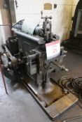 """Butler 18"""" slotting machine with slotted table and work holding fixture (Please note: A work"""