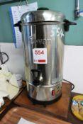 Swan stainless steel light water dispenser