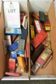Two boxes and contents to include various boxed, cutting inserts, etc. (as lotted) (Recommended