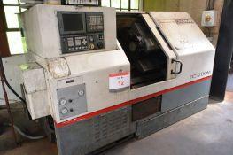 Cincinnati TC-200M CNC slant bed turning centre, serial no. 7059 F00 KK0157, GE Fanuc series 21i-T