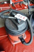Numatic industrial vacuum, model NVD Q 570-2 (Recommended collection period for this lot Wednesday