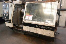 Colchester CNC-4000 gap bed SS&SC centre lathe, serial no. L4140GFBSA/01314, GE Fanuc OT control,