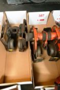 Two crane gantry runners (plain trollies)(Recommended collection period for this lot Wednesday