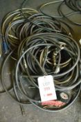Assorted pneumatic air line (Recommended collection period for this lot Wednesday 15th - Friday 17th