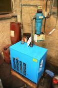 Hi-Line compressed air dryer, mmodel CDA-70, serial no. 110250085 (2011), with inline Compair