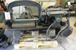"Edward & Herbert Rapidor 12"" heavy duty powered hacksaw, manual clamping (Please note: A work Method"