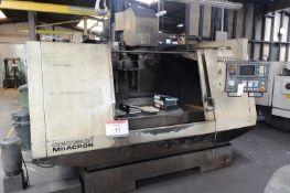 Cincinnati Milacron Sabre 1250 CNC vertical machining centre, serial no. 7037 F00 RH 0162, GE
