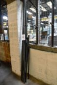 Seven various steel bars, approx range 700 - 2000mm (Recommended collection period for this lot