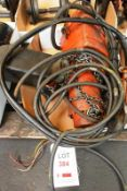 Electric chain hoist, 500 kg (Recommended collection period for this lot Wednesday 15th - Friday