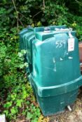 Plastic fuel tank, 1800 x 1400 x 700mm (Recommended collection period for this lot Wednesday