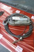 Tirfor wire cable pulling system, model TU16 (Recommended collection period for this lot Wednesday