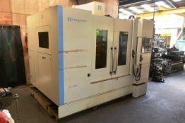 Hardinge Bridgeport GX1000 CNC vertical machining centre, serial no. NVCB1D0061 (2011), Fanuc series