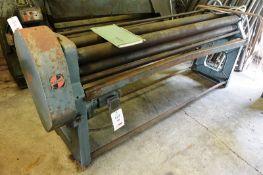 "Pullmax 80"" x 14 swg powered binding rollers, 4"" top roller diameter Please note: PDG Machinery"