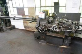 Herbert No. 2D capstan turret lathe 6 station turret, collet chuck and bar feed (Please note: A work