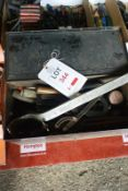 Tool case and assorted engineer's tools (Recommended collection period for this lot Wednesday 15th -