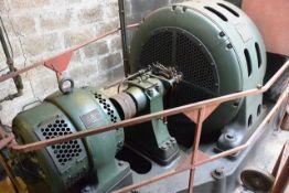 Blackstone 93.75 kva industrial stand-by diesel generator set, including EP3 3 cylinder diesel