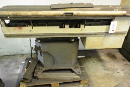 Hydrafeed Multifeed MLT CNC bar feeder, serial no. 4096 (2000) Please note: PDG Machinery Services