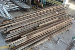Quantity of various timber offcuts