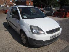 Ford Fiesta 1.4TDCi 67bhp car derived van. Registration: HD08 AKJ. Recorded mileage 102,413. MOT: 30