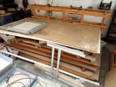 Pallet of assorted plywood & MDF sheet panels
