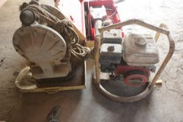 Two various pumps (please note: working condition unknown, sold as spares or repairs)
