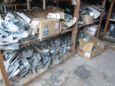 Quantity of assorted timber, stainless steel wall ties, hangers etc.