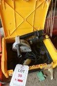 Atlas Copco DME 30, 110v wall chaser, serial no. 4000362593, with carry case