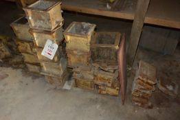 Approx. seventeen 150mm concrete moulds