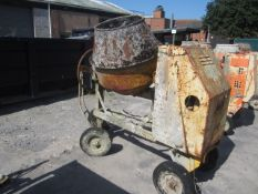 Un-named diesel powered cement mixer