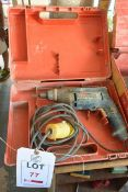 Bosch GSR 6-20TE, 600w 11v drill with carry case