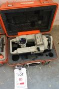 Sokkia DT6 electronic digital theodolite, serial no. D20513 (current calibration status unknown),