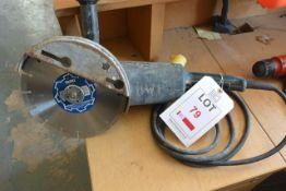 "Bosch GWS 20-230 110v disc cutter, 9"""