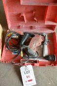 Hilti TE 6-C 110v rotary hammer drill, with carry case