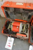 Sokkia LP31 rotary surveyors laser, serial no. 36366 (current calibration status unknown), with