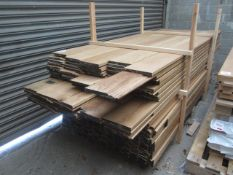 One pallet of 2500 x 200mm timber coving