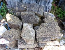 One pallet of assorted stone block