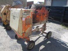 Belle diesel powered mobile cement mixer