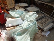 Three pallets of assorted tile stock