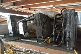 Four Rhino 110v space heaters