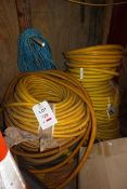 Quantity of various hoses (as lotted)