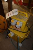 Two various 110v site transformers
