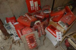 Quantity of 'Fire Evacuator' warning alarms (do be sold as spares/ repairs only)