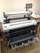 Canon PF760 Image Pro Graf wide format printer, no. AAGR2050, with context SD3600 scanner, model