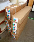 Fifteen boxes of Mygraphics High White 90GSM 841X 45 (25) CF75.841mm x 45m/50