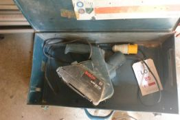 Bosch GNF 20CA 110v wall chaser, and carry case