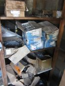 Quantity of assorted wall ties