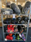 Rack & Contents to include approx 45 unused Outwell, Vango & Kampa Sleeping Bags as lotted