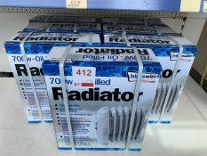 Seven Leisurewize 700w oil filled radiators