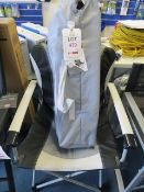 Two Kampa Gov'ner folding chairs (1 ex-display, 1 boxed)