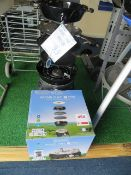 Cadac Safari Chef 2 Pro QR gas BBQ & Grill (Ex-display with box and display stand)